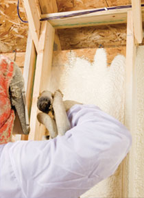 Burlington Spray Foam Insulation Services and Benefits
